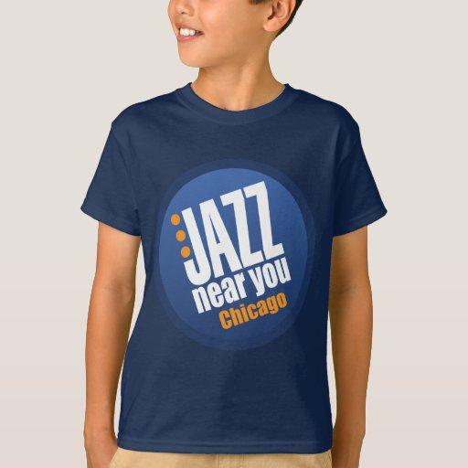 Jazz Near You Chicago Apparel T-Shirt