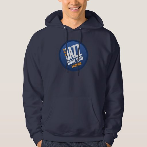 Jazz Near You London Apparel Hooded Pullover