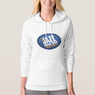 Jazz Near You New Orleans Ladies Fleece Hoodie