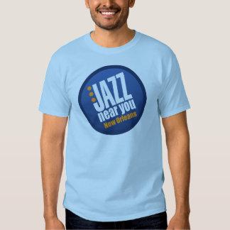 Jazz Near You New Orleans Men's Short Sleeve Basic T Shirts