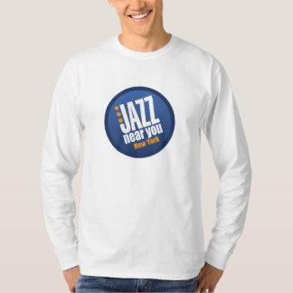 Jazz Near You New York Heavyweight Longsleeve T Shirt