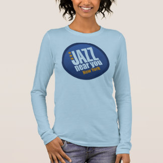 Jazz Near You New York Ladies Long Sleeve Fitted Long Sleeve T-Shirt