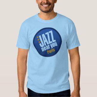 Jazz Near You Paris Men's Short Sleeve Basic Tee Shirt