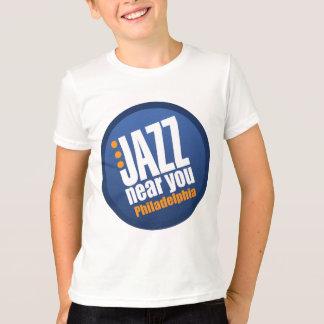 Jazz Near You Philadelphia Apparel T-Shirt