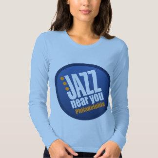 Jazz Near You Philadelphia Ladies Long Sleeve T-Shirt