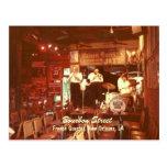 Jazz New Orleans, postal de la calle de Borbón