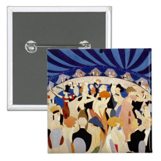 Jazz Night Dance 2 Inch Square Button