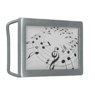 Jazz Notes Belt Buckle