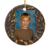 Jazz Notes First Day School All Occasion  Ornament
