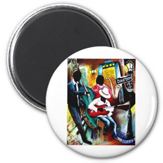 Jazz on Bourbon St..jpg Magnet