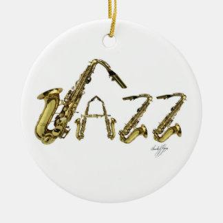 Jazz Christmas Tree Ornament