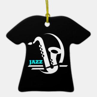 jazz christmas ornament