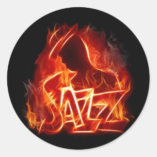 jazz pegatinas