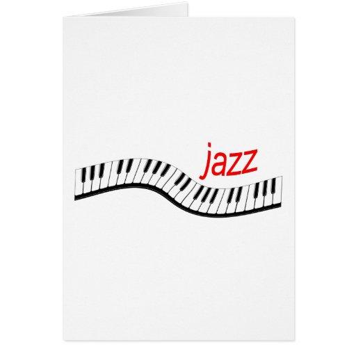 Jazz Piano Card