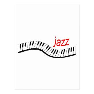 Jazz Piano Postcard