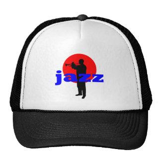 Jazz Player Trucker Hats
