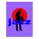 Jazz Post Card