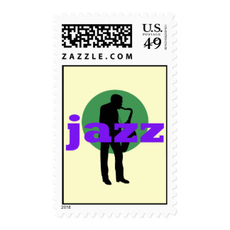 Jazz Postage Stamps