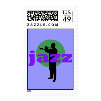 jazz postage stamp