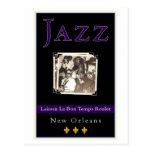 Jazz Postcard