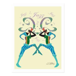 Jazz Postcards