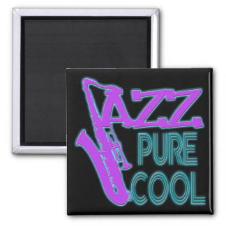 JAZZ PURE COOL 2 INCH SQUARE MAGNET