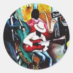 jazz purse.jpg round stickers