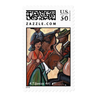 Jazz Quartet Postage