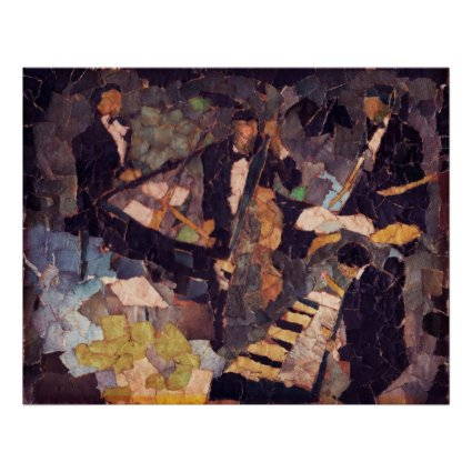 Jazz Quartet Poster