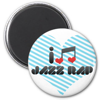 Jazz Rap Fridge Magnet