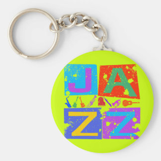 JAZZ RETRO KEYCHAIN