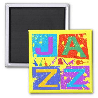 JAZZ RETRO REFRIGERATOR MAGNETS