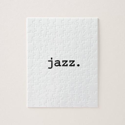 jazz rompecabeza con fotos