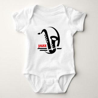 Jazz Sax Baby Bodysuit