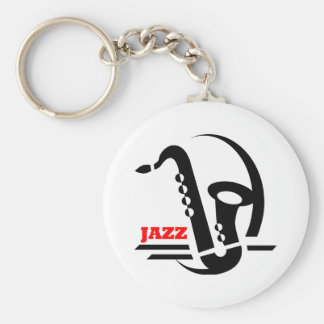 Jazz Sax Keychain