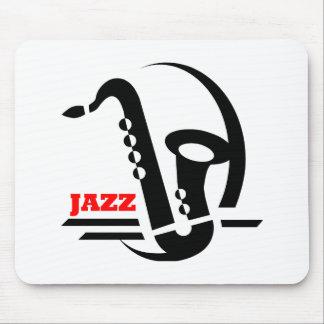 Jazz Sax Mouse Pad