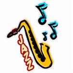 Jazz Sax Photo Cut Out