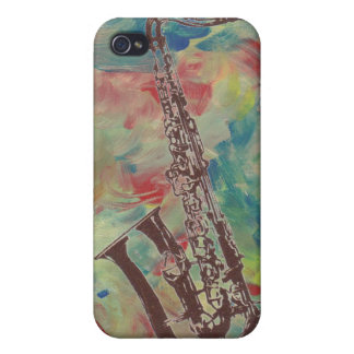 jazz saxophone iPhone 4 cover