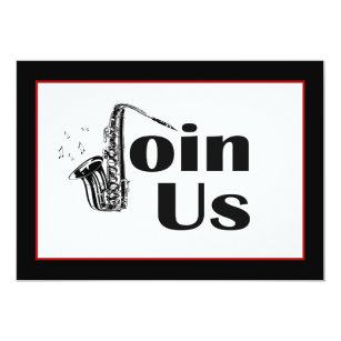 Jazz Invitations Announcements Zazzle