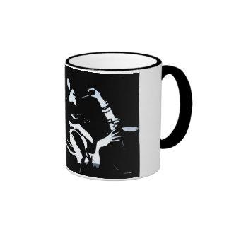 Jazz Set Ringer Coffee Mug