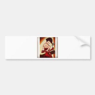 Jazz Singer Bumper Sticker