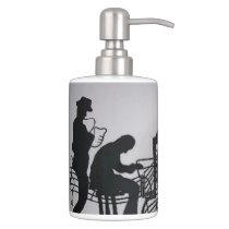 Jazz Soap Dispenser & Toothbrush Holder