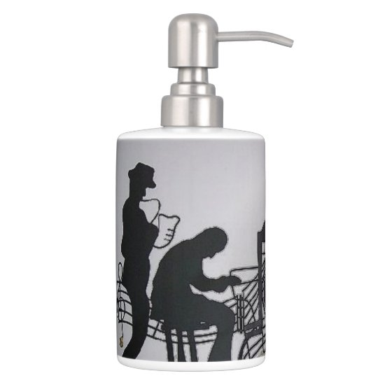 Jazz Soap Dispenser & Toothbrush Holder