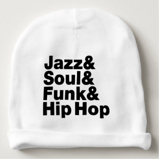 Jazz & Soul & Funk & Hip Hop Baby Beanie