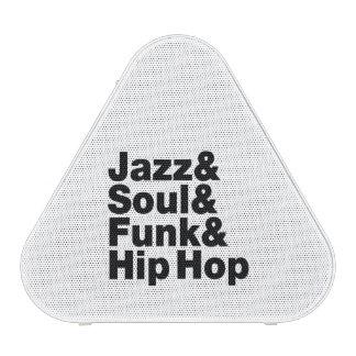 Jazz & Soul & Funk & Hip Hop Bluetooth Speaker