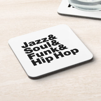 Jazz & Soul & Funk & Hip Hop Coasters