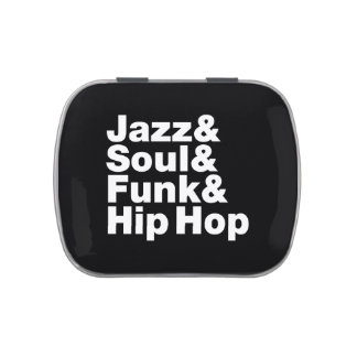 Jazz & Soul & Funk & Hip Hop Jelly Belly Candy Tin