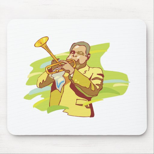 jazz soul performer mouse pad