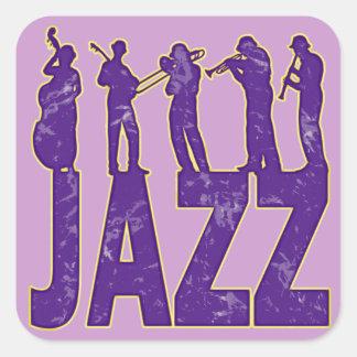 Jazz Square Sticker