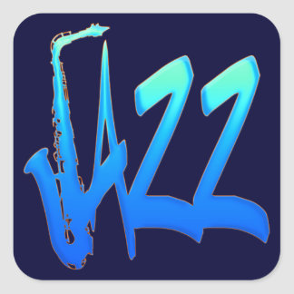 Jazz Square Sticker